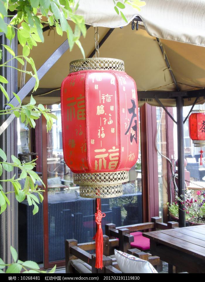 中国民间艺术红色灯笼图图片