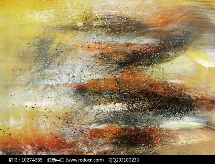 抽象壁画图片