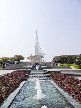 东方绿洲尖塔帆船喷泉