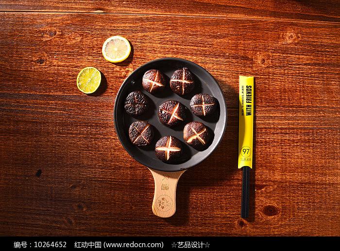 干炒蘑菇图片