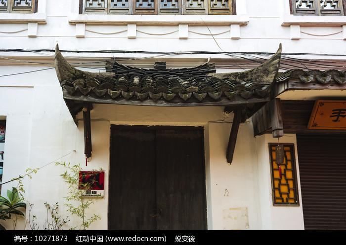 古建筑门檐图片