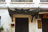 古建筑门檐