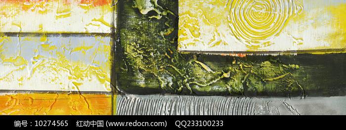 简约现代风格抽象油画图片