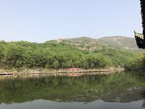 南阳七峰山景区湖面