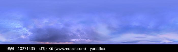 全景天空-多云图片