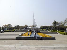 上海东方绿洲帆船尖塔