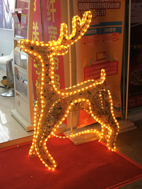 圣诞节麋鹿装饰