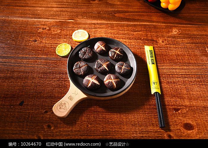 生烤蘑菇瓣图片