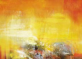 手绘抽象油画素材