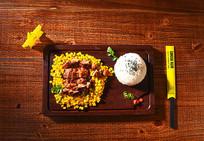 玉米搭米饭