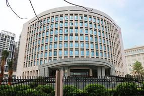 茂名地标建筑中国人民银行大楼