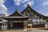 日本京都金阁寺正面