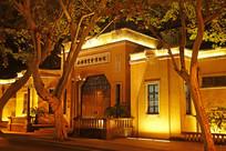 西湖博览会博物馆灯光夜景