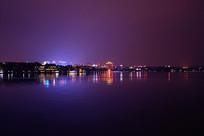 西湖灯光夜景