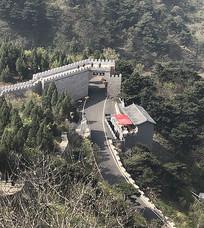 南阳七峰山景区古长城