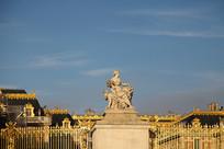 巴黎凡尔赛宫雕塑