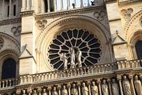 巴黎圣母院建筑局部