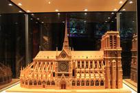 巴黎圣母院模型