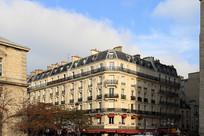 法国巴黎城市风光