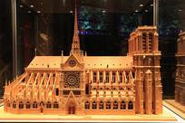 法国巴黎圣母院模型