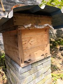 木制蜜蜂箱