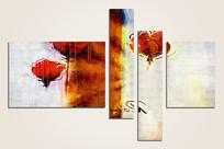 欧美抽象油画