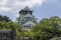 日本大阪城天守阁
