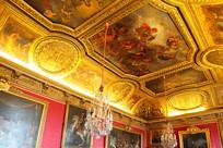法国巴黎凡尔赛宫内景