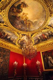 法国宫殿凡尔赛宫内景