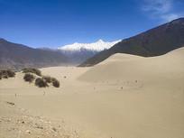 林芝自然沙丘