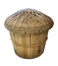 木甑子抠图白底白背景摄影图