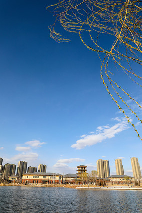 新中式建筑风光