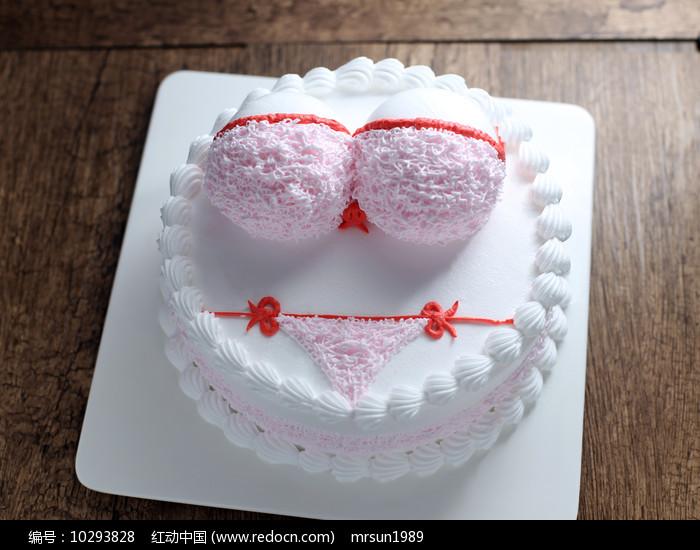 比基尼蛋糕图片