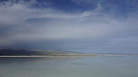 茶卡盐湖意境