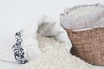 大米米粒拍摄图片
