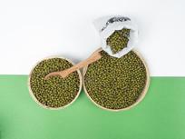 健康养生粗粮绿豆图片
