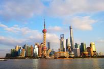 上海东方明珠电视塔风光