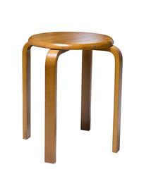 实木圆凳白背景图片