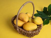 水果芒果特写图