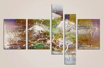 现代抽象艺术壁画