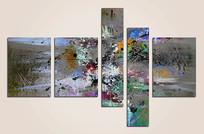 现代简约抽象画