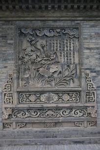 古建筑花雕