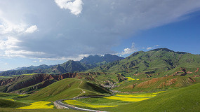 卓尔山大草原风光摄影