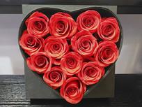 爱情玫瑰花心
