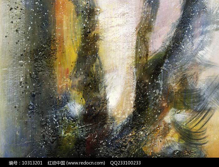 高雅的抽象艺术壁画图片