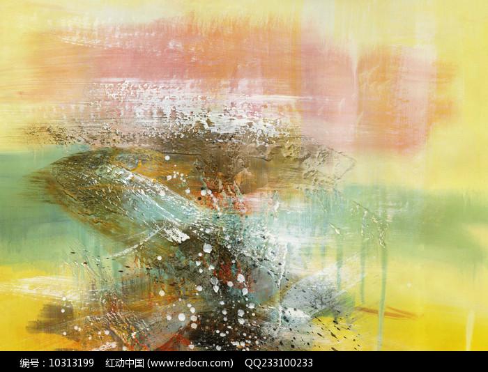 现代抽象背景画