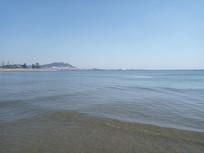 漂亮的大海边