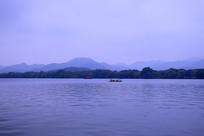 西湖风景区游船