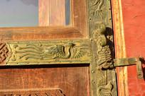 紫禁城凤凰装饰窗框