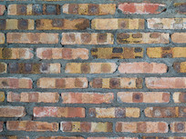 紅色磚墻平面背景素材
